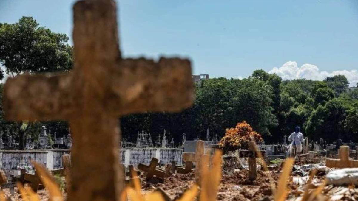 mortes covid brasil