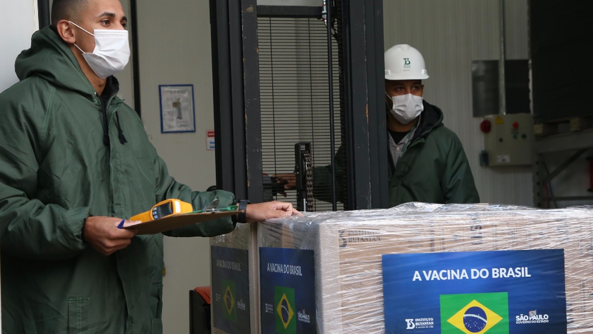 novos lotes instituto butantan vacina contra covid