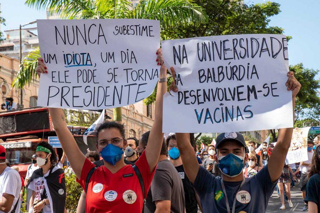 Fora Bolsonaro Belo Horizonte