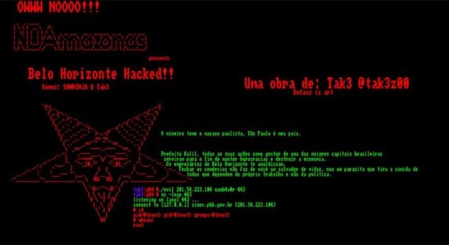 ataque site pbh