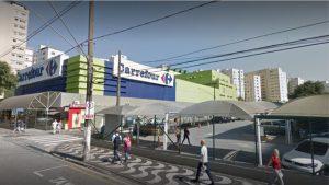 Carrefour Avenida Conselheiro Nébias Santos litoral São Paulo