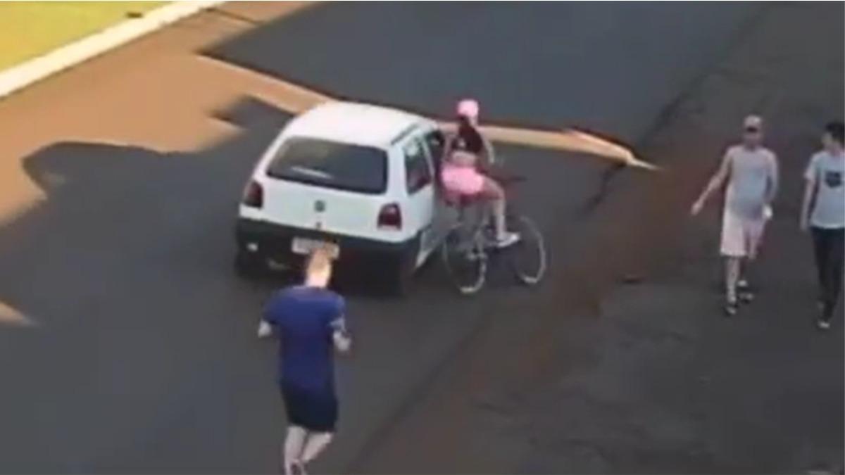 assédio ciclista
